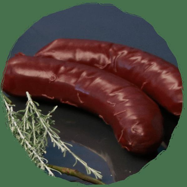 boudin noir cochon des prés - charcuterie et viandes à cuisiner
